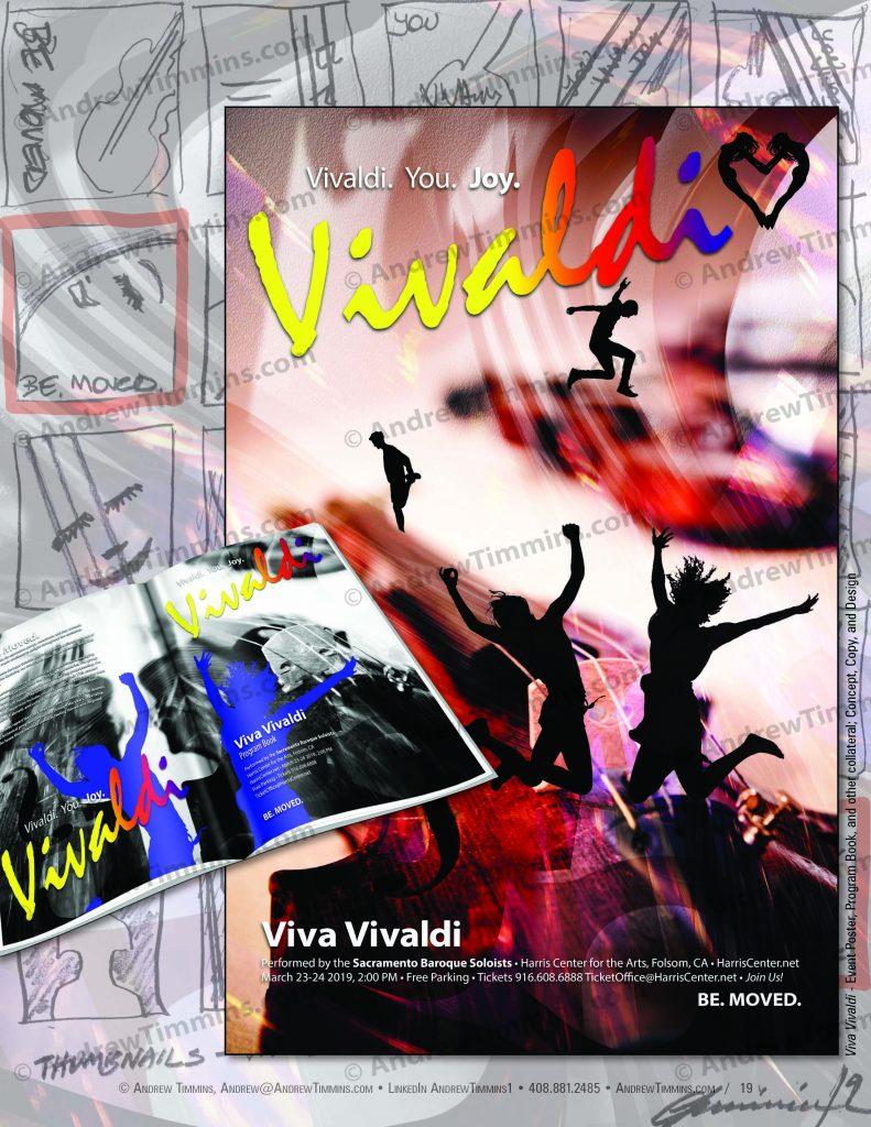 Viva Vivaldi - Event Poster, Program Book, other Collateral