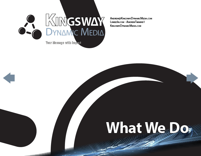 Kingsway - WHAT WE DO -Interactive
