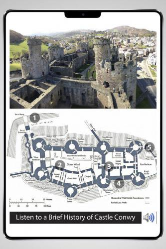 Interactive Tour Book - Castle Conwy, Wales